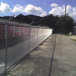 Tampa Commercial Chain Link Fence Installer